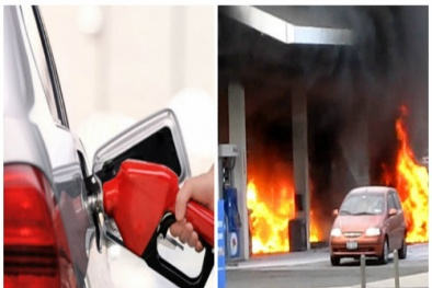 Khởi động xe ô tô khi đang đổ xăng nguy cơ gây 'thảm họa' tài xế cần biết