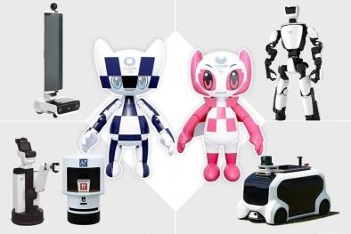 Nhật Bản 'trình làng' hàng loạt robot phục vụ Olympic Tokyo 2020