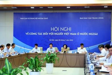 Tạo hành lang pháp lý thuận lợi để người Việt Nam ở nước ngoài về đầu tư sản xuất kinh doanh