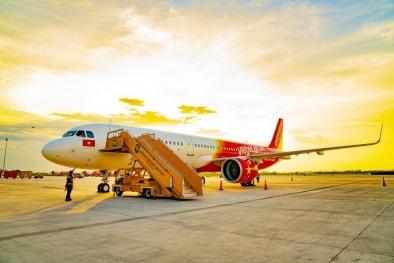Vietjet: Doanh thu vận tải hàng không tăng 22%, lợi nhuận gần 1.600 tỷ