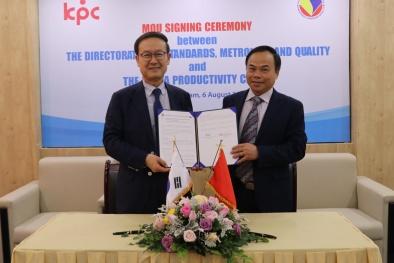 Hợp tác Hàn Quốc thúc đẩy năng suất của Việt Nam phát triển tốt hơn
