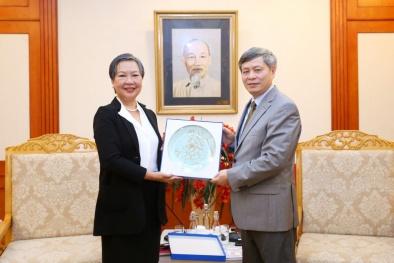 IAEA sẽ hỗ trợ các dự án, chương trình công nghiệp hạt nhân của Việt Nam