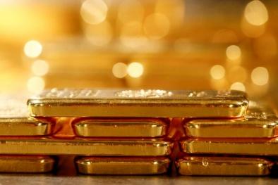 Giá vàng lao dốc sau tín hiệu lạc quan trong quan hệ thương mại Mỹ-Trung