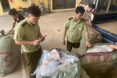 Nhập lậu lượng lớn quần áo lót nữ không rõ nguồn gốc về Việt Nam tiêu thụ