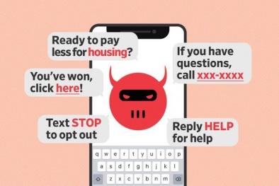 Cảnh giác khi nhận các cuộc gọi và tin nhắn rác tự động