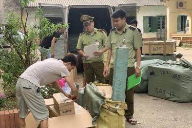 Chặn đứng hành vi nhập lậu bột tôm không rõ nguồn gốc về Việt Nam tiêu thụ