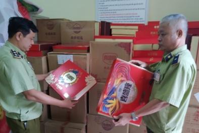 Tịch thu hơn 2.000 bánh trung thu Trung Quốc nhập lậu tại Bắc Ninh