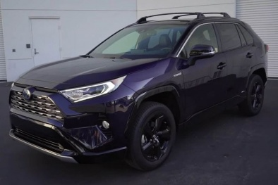 Mẫu xe SUV cỡ nhỏ tốt nhất phân khúc gọi tên Toyota RAV4 Hybrid 2019