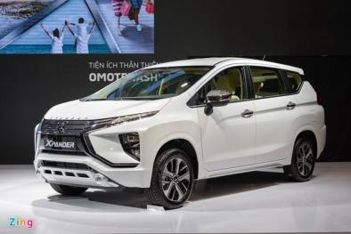 Mitsubishi Xpander chuẩn bị được lắp ráp trong nước có giá bao nhiêu?