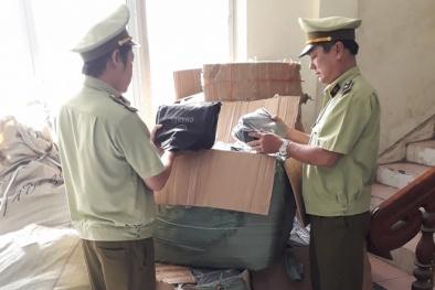 Chặn đứng lô túi xách giả mạo các nhãn hiệu nổi tiếng được bảo hộ tại Việt Nam