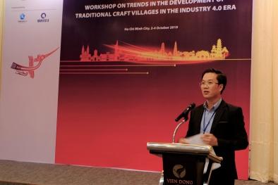 CMCN 4.0 và cơ hội phát triển làng nghề thủ công truyền thống