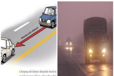 Dễ gây tai nạn liên hoàn nếu tài xế không biết tính khoảng cách an toàn khi phanh ô tô