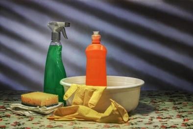 Nước lau nhà có thể sản sinh chất nguy hiểm gây ô nhiễm không khí