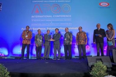 Doanh nghiệp Việt thắng lớn tại Giải thưởng Chất lượng Quốc tế châu Á - Thái Bình Dương 2019