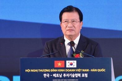 Tương lai quan hệ hợp tác Việt Nam-Hàn Quốc phụ thuộc đội ngũ doanh nhân