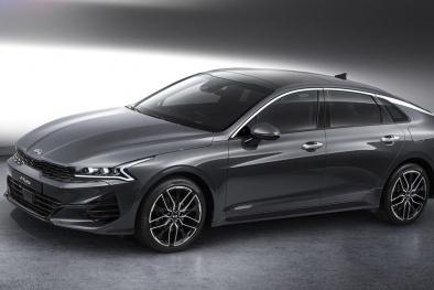 'Cận cảnh' Kia Optima 2021 chuẩn bị bán ra trong tháng tới