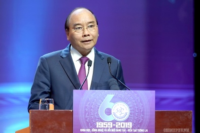 Thủ tướng Nguyễn Xuân Phúc: KH&CN là yếu tố quyết định tăng trưởng trong dài hạn