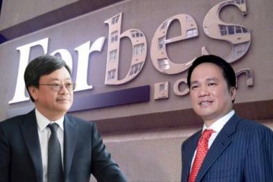 Hai đại gia Việt này vừa bị mất hàng nghìn tỷ đồng khỏi tài khoản