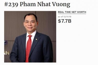 Người giàu nhất Việt Nam có bao nhiêu tiền?