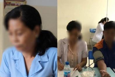 Hô biến nhân viên 'tạp vụ' thành bác sĩ khám bệnh