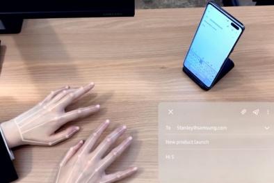 'Bàn phím vô hình' vừa được Samsung hé lộ sử dụng công nghệ gì?