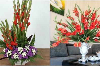 Những cách cắm hoa lay ơn đẹp ngày tết mà bạn nên biết