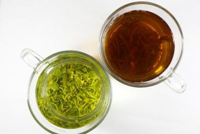 Sử dụng trà xanh tốt cho sức khỏe hơn rất nhiều so với trà đen