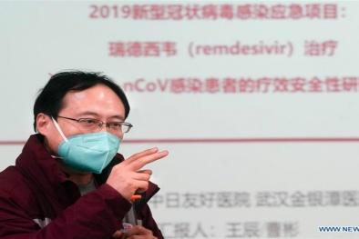 Trung Quốc: Xin cấp phép thử nghiệm thuốc điều trị virus Corona