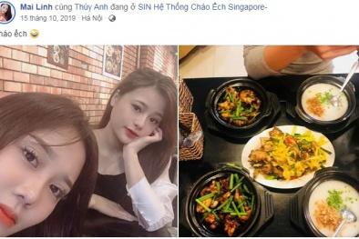 Không cần đến Singapore vẫn có thể thưởng thức chuẩn hương vị cháo ếch trứ danh