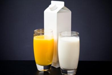 Sữa và nước trái cây không thực sự cần thiết cho sức khỏe con người