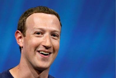 CEO Facebook Mark Zuckerberg là người giàu thứ 3 thế giới