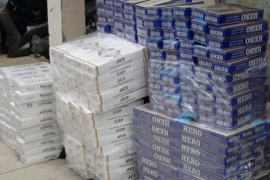 Siêu lợi nhuận khiến buôn lậu thuốc lá hoành hành