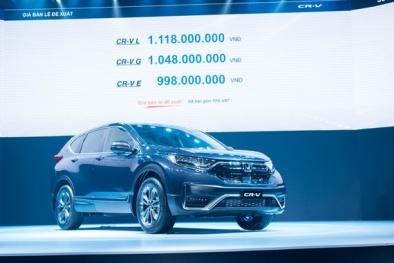 Honda CR-V lắp ráp mới ra mắt tại Việt Nam: Giá lăn bánh bao nhiêu, chất lượng ra sao?