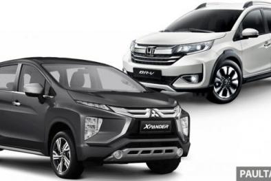 Mitsubishi Xpander và Honda BR-V 7 chỗ đẹp long lanh giá hơn 400 triệu: Xe nào nổi trội hơn?
