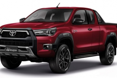 Xe bán tải Toyota Hilux 2020 đẹp long lanh giá từ hơn 500 triệu sắp trình làng có gì hay?