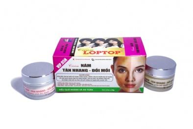 Thu hồi toàn quốc lô mỹ phẩm Cream LOPTOP vì chứa thành phần cấm