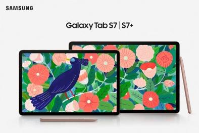 Samsung ra mắt Galaxy Tab S7 và S7+ chất lượng với nhiều tính năng mới