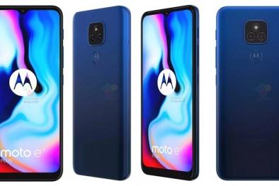 Smartphone giá rẻ mới nhất của Motorola màn hình tiêu chuẩn 6.5 inch