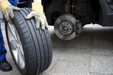 Thay lốp ô tô tại cơ sở làm lốp cần tỉnh táo kẻo bị mắc lừa mua phải lốp cũ