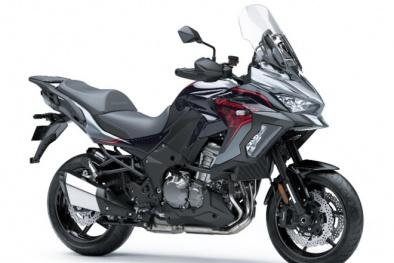 Có giá bán hơn 380 triệu đồng, Kawasaki Versys 1000 S 2021 mới ra mắt hấp dẫn cỡ nào?