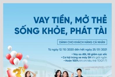 Vay tiền, Mở thẻ trúng xe SH 150i cùng VietinBank