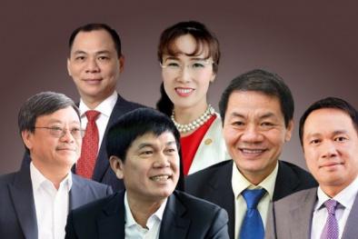 Khối tài sản nghìn tỷ của các đại gia giàu nhất Việt Nam tiếp tục tăng mạnh