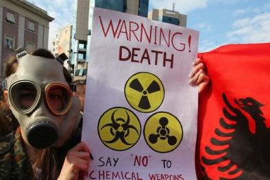 Dự thảo Nghị định thi hành về việc thực hiện một số biện pháp liên quan đến cấm vũ khí hóa học