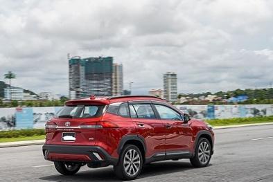 Nhược điểm gây thất vọng của xe Toyota Corolla Cross trang bị hệ thống Hybrid
