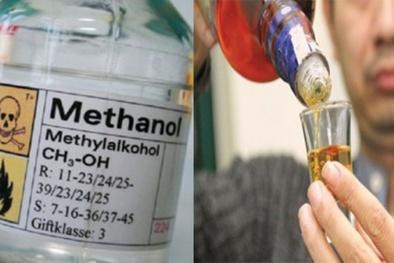 Cảnh báo khẩn cấp tình trạng ngộ độc methanol