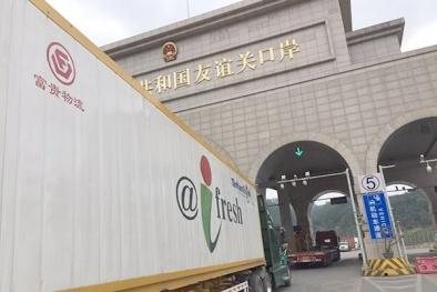 Trung Quốc kiểm nghiệm COVID-19 đối với thanh long và container lạnh nhập từ Việt Nam