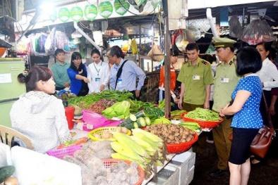 Ngăn chặn thực phẩm bẩn, kém chất lượng xâm nhập thị trường Tết