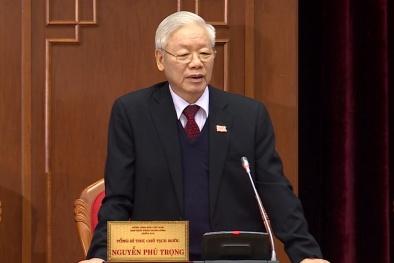 Đồng chí Nguyễn Phú Trọng được tín nhiệm bầu làm Tổng Bí thư BCH Trung ương Đảng khóa XIII