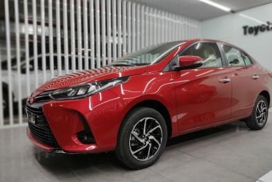 Cận cảnh Toyota Vios 2021 tại Việt Nam: Ngoại hình thay đổi nhẹ, bổ sung thêm tính năng an toàn
