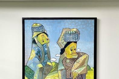 """""""Nghệ thuật đảo ngược"""" từ phòng tranh triển lãm đến ý nghĩa cuộc sống"""